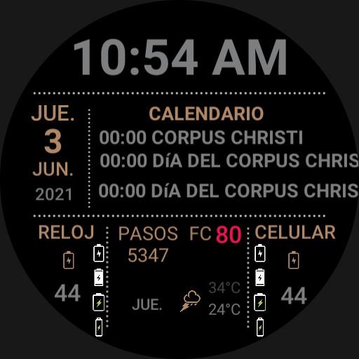 weather calendar Copy