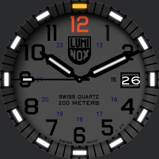 Luminox EVO Navy Seal Blackout Replica Copy