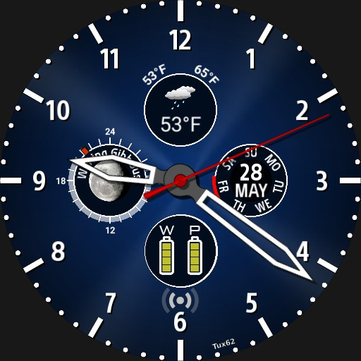Four subdials - lots of info V3