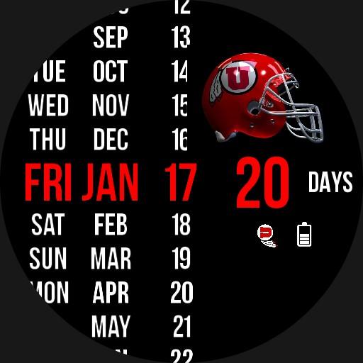 2021 Utah Utes Football Countdown
