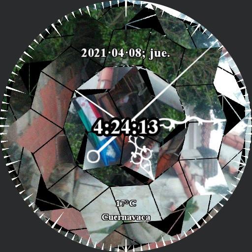 Broken Memories Decimal Time Watch