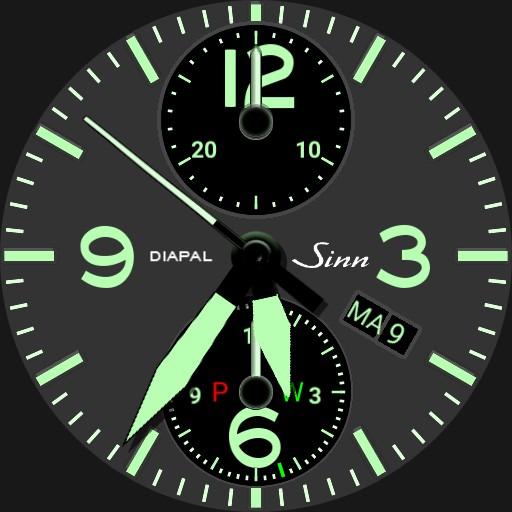Sinn 756 Diapal 2.1 ColPik