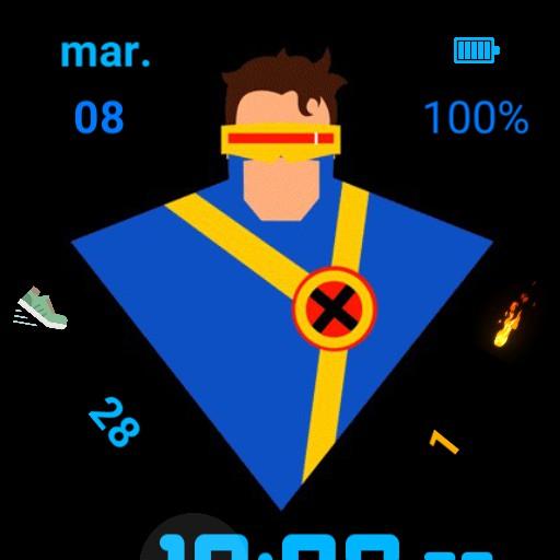 superheroes  12h 24h segundos