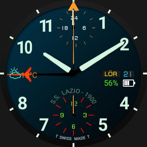 Fortis Cosmonauts GMT SS Lazio blue v2 Copy