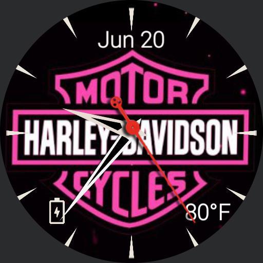 Harley Davidson Pink