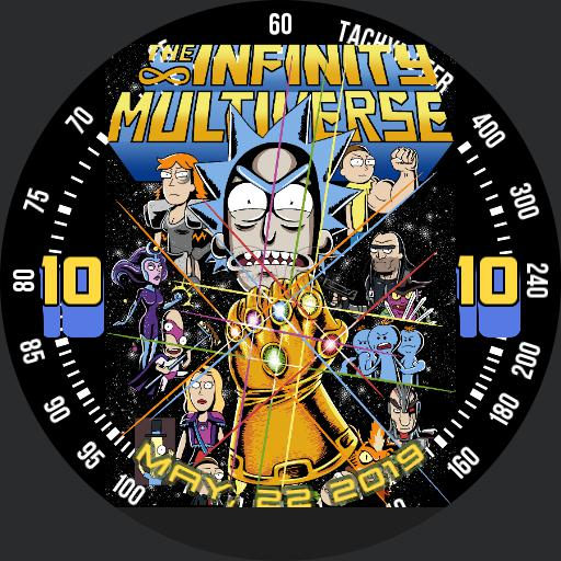 Infinity Universe - Rick  Morty