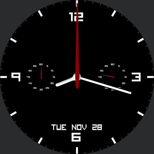 Chronograph minimal