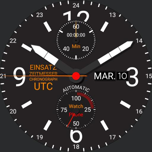 Mission Timer Chronograph UTC 2.2