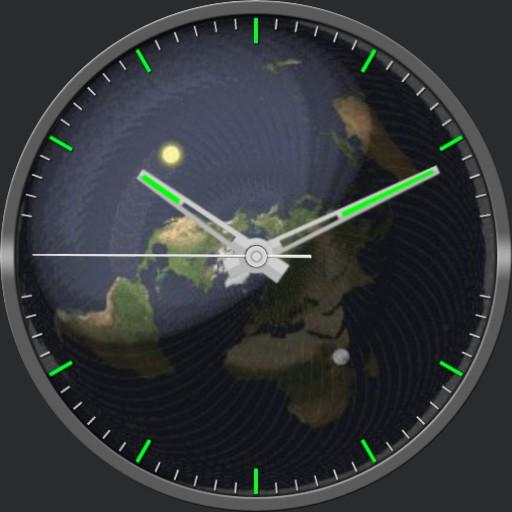Flat Earth Animated