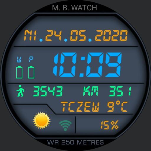 M. B WATCH