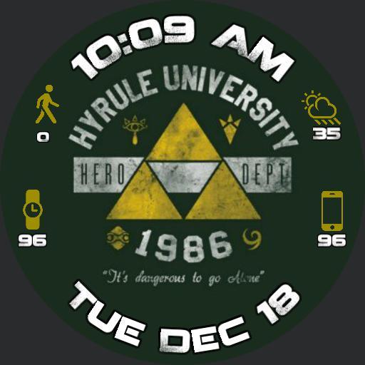Hyrule University Zelda