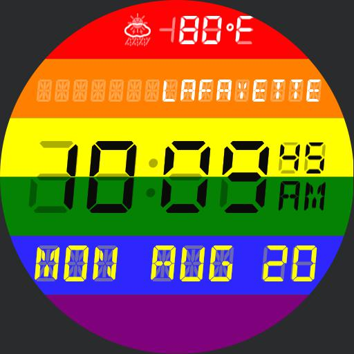 Pride LCD