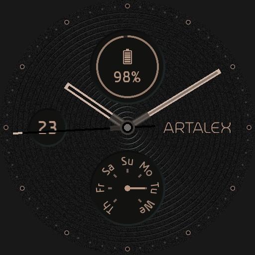ARTALEX Night Desert