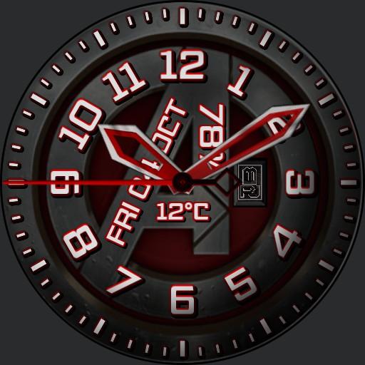 Avengers Insignia Matt Black JBAIMB100919
