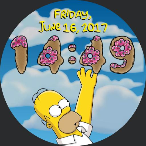 Simpsons Doughnut