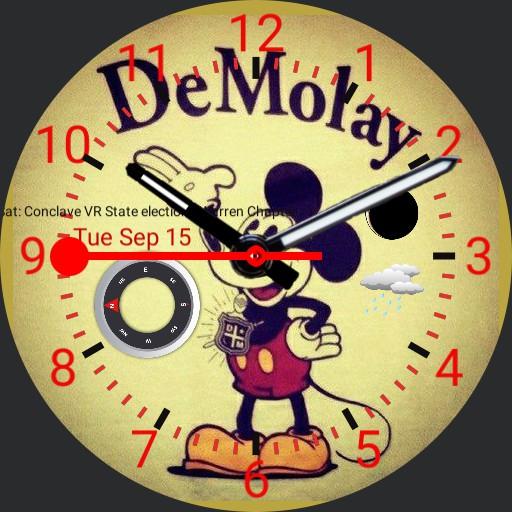 DeMolay Crest