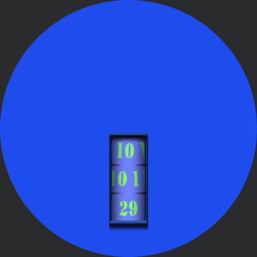 KReB Experiment Blue