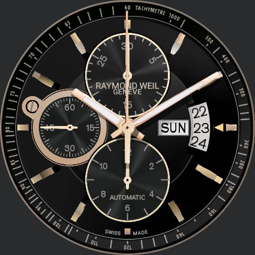 Raymond weil Freelancer Gold full ver.