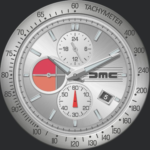 DMC Watches 1981 Chronograph 3 in 1