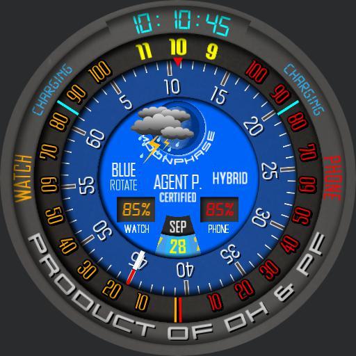 Blue Rotate Hybrid