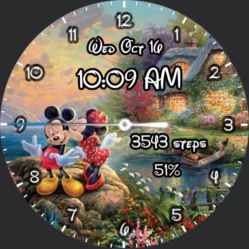 Mickey Minnie sweetheart
