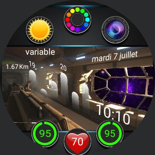 salon space futur widget anim