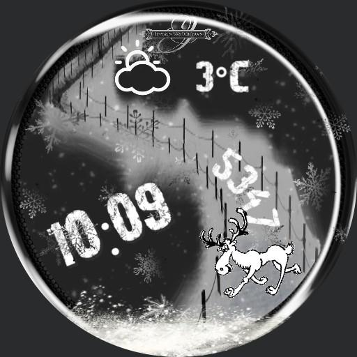 Winter Schneefall Animation