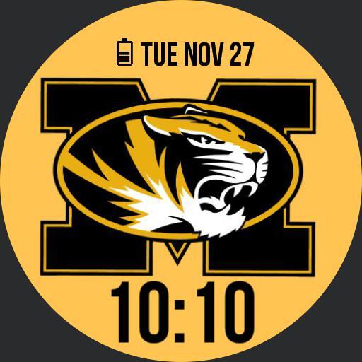 Mizzou Tigers Gold