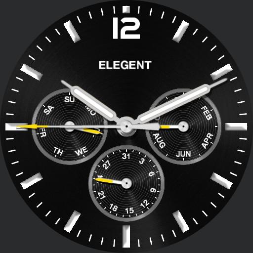 Elegent Calendar Watch