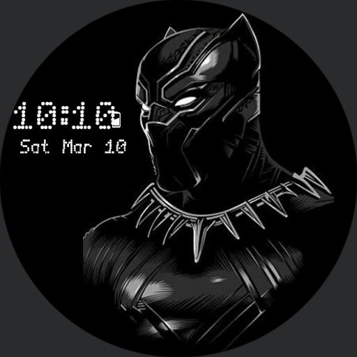 the black panther watch
