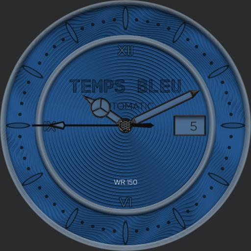 temps bleu classic