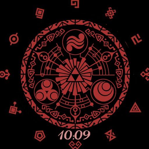 Zelda themed chronograph
