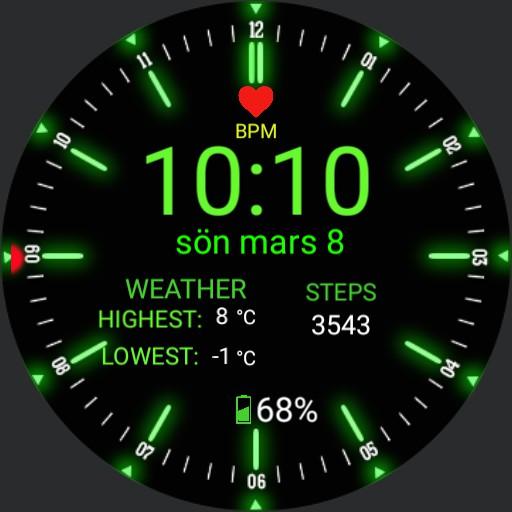 Ultra Neon Watch