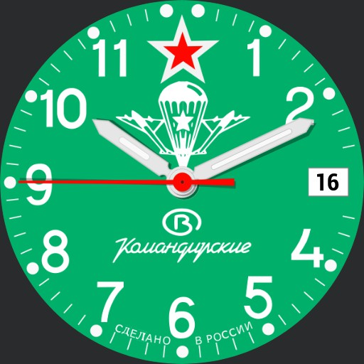 Vostok Komandirskie Ref #211307
