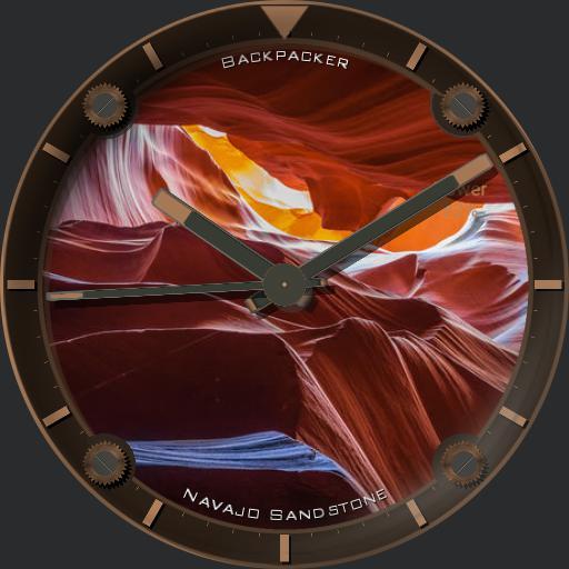 Backpacker Navajo Sandstone