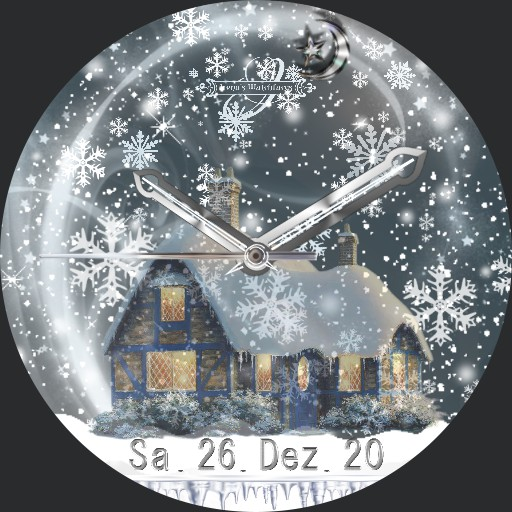 Winterabend 3fach Dim Snow A