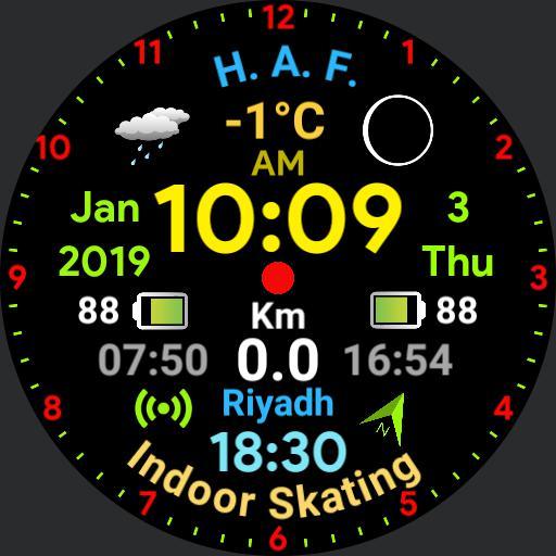 Digital Watch - Wear OS III
