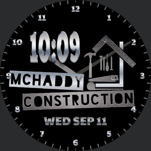 McHaddy Construction Logo