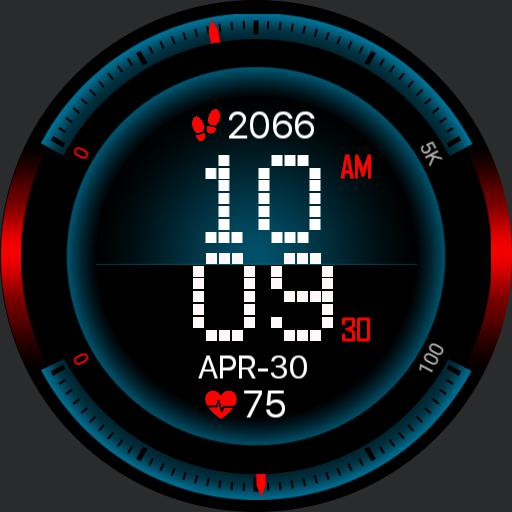 SPEEDOMETER TECH Watch Face PREMIUM