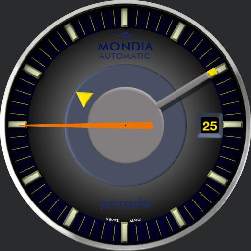 Mondia Parade Mystery Dial c.1975