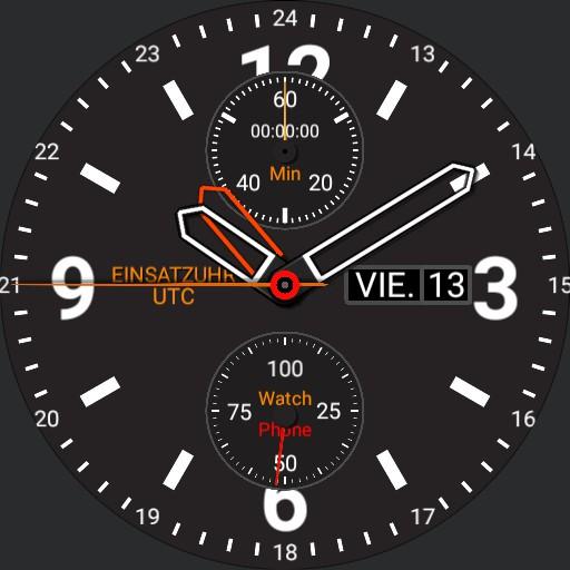 Einsatzuhr UTC 5 typ 1/2 Stunden