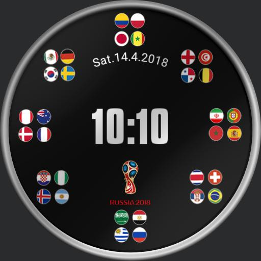 World Cup Countdown with Score Centre