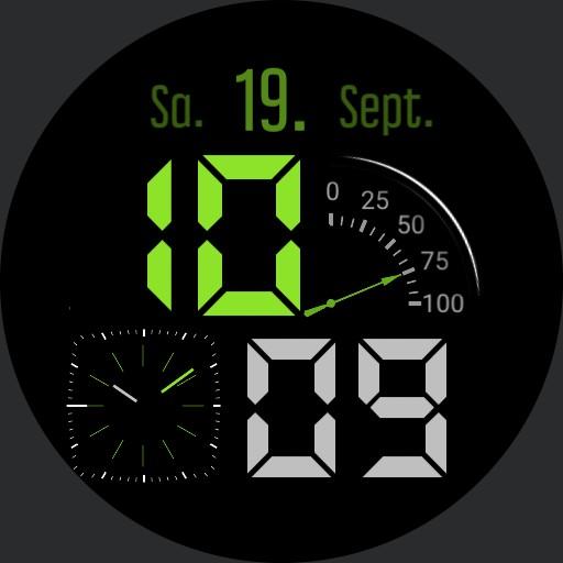 Colored ClockMix