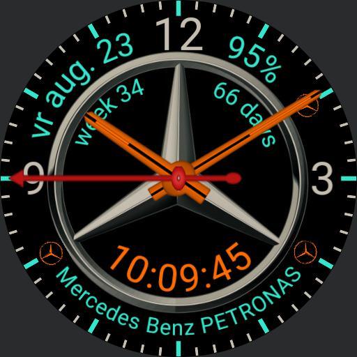 MERCEDES WATCH mojavesilver Petronass