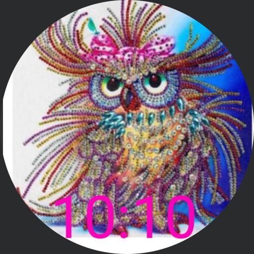 Colorful Owl - plwren