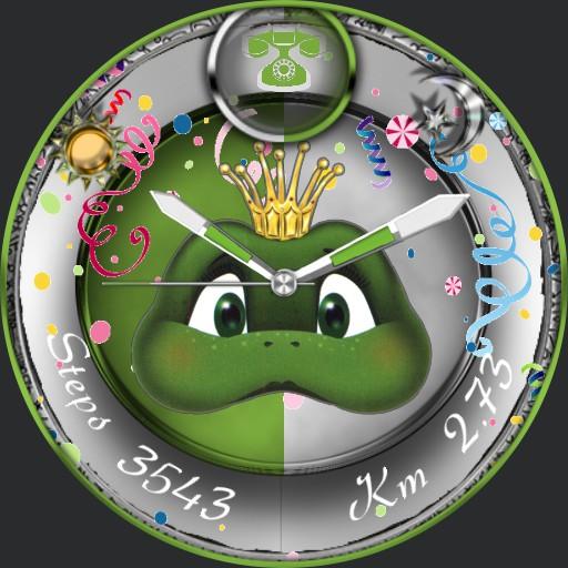 Karneval Frog Slider    Copy