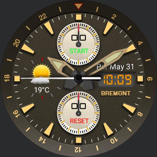 Fs Bremont watch face