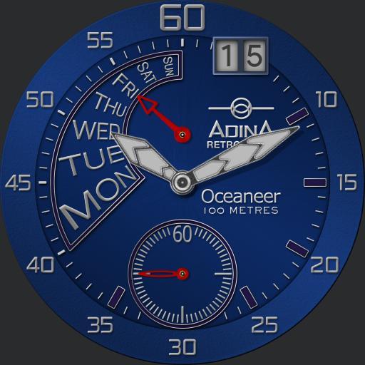 Adina Oceaneer Retrograde YS20 4 in 1