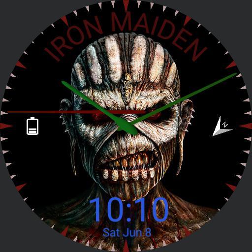 Iron Maiden Watch face