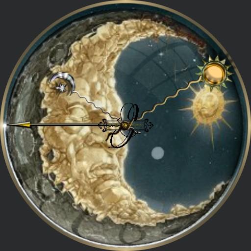 Mond Sonne